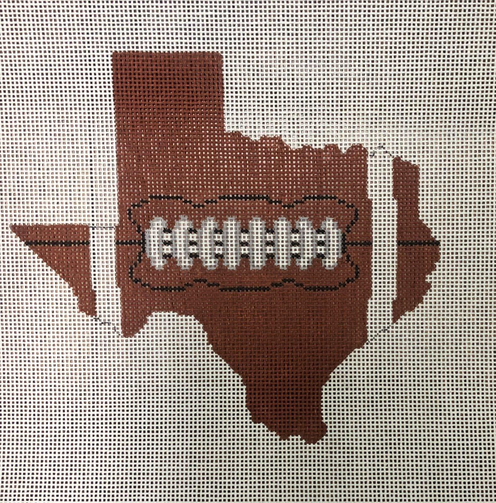 PC-Football State Shaped -Texas  XO-211t