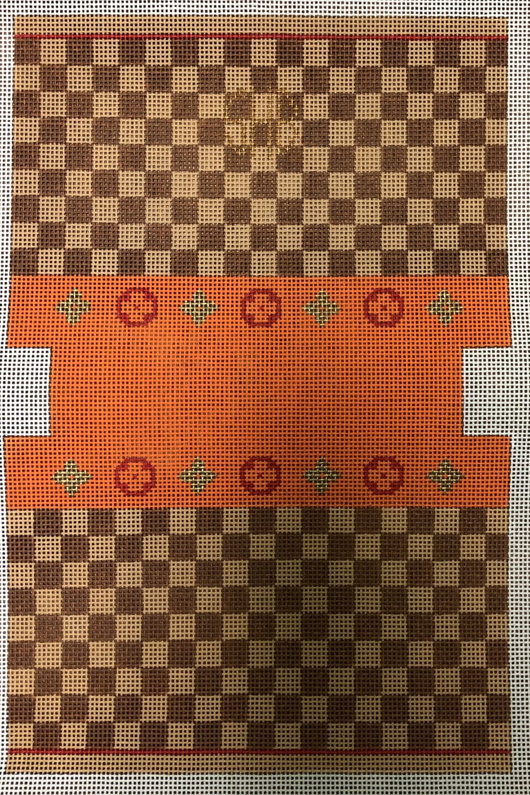 PC-Louis Square, Orange, Small Bag 13M