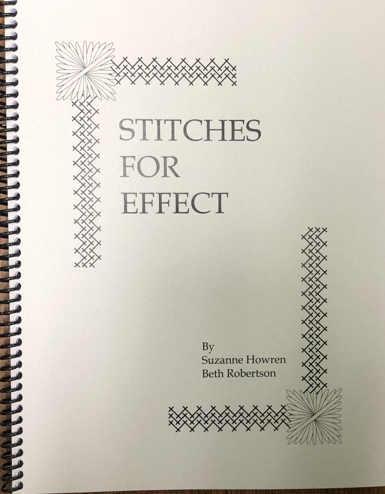 Book-Stitches For Effect