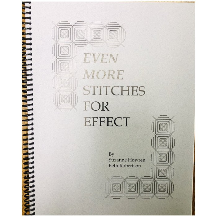 Book-Even More Stitches For Effect