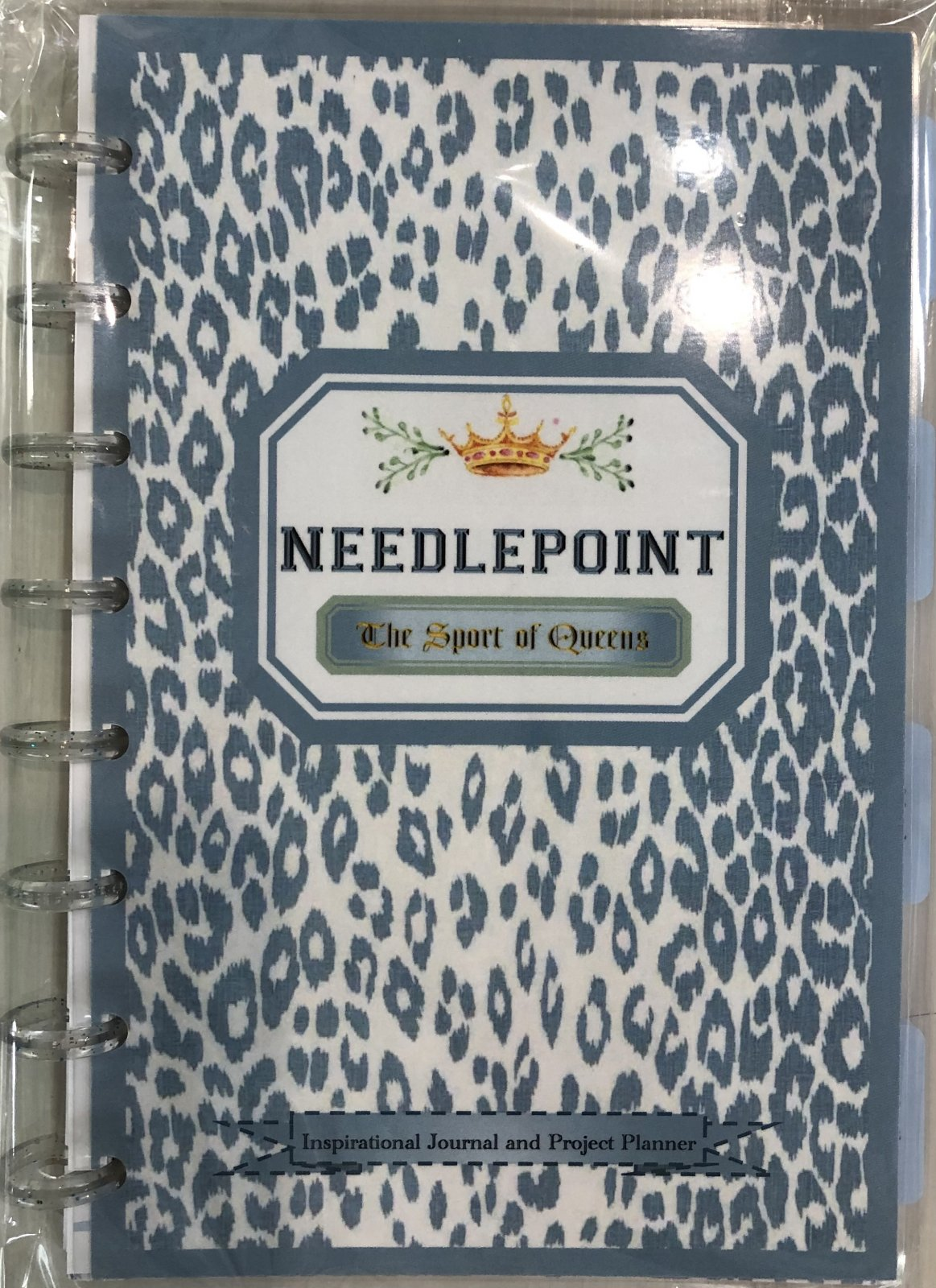 Needlepoint The Sport of Queens Planner