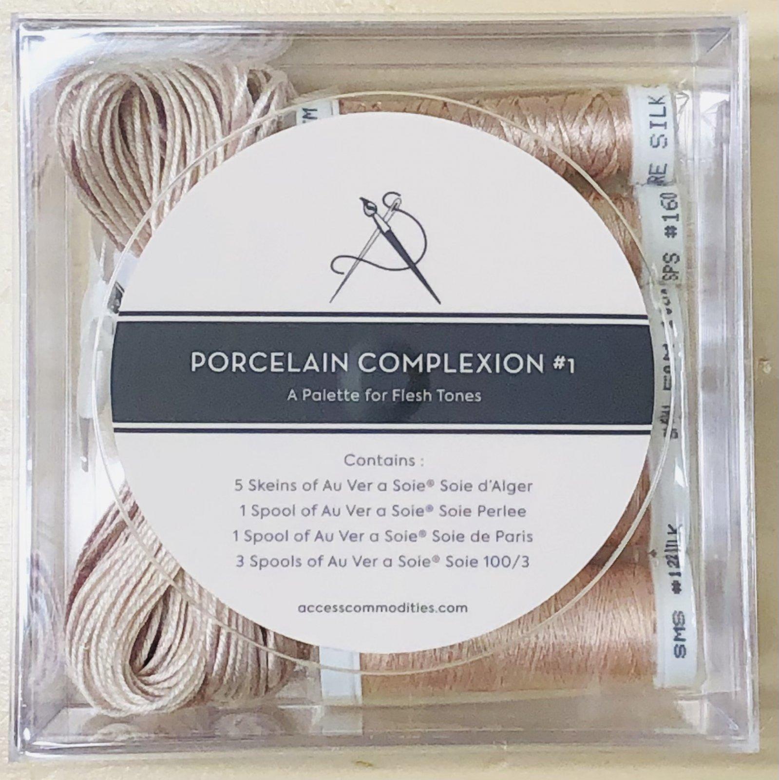 Flesh Tone Collection# 1 Porcelain Complexion