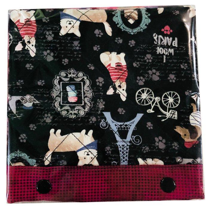 Magnifier Light Cover Paris Dogs  6 x 6