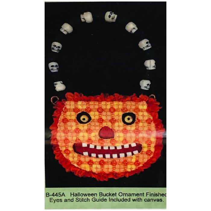 PC-Halloween Pumpkin Candy Bucket w/Stitch Guide    18M