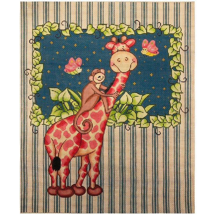 PC-Giraffe w/Monkey Bazoople   10 x 12   18M