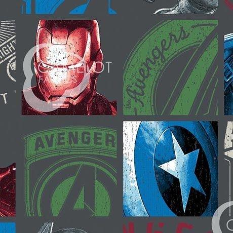 Charcoal Marvel Avengers Hero Blocks