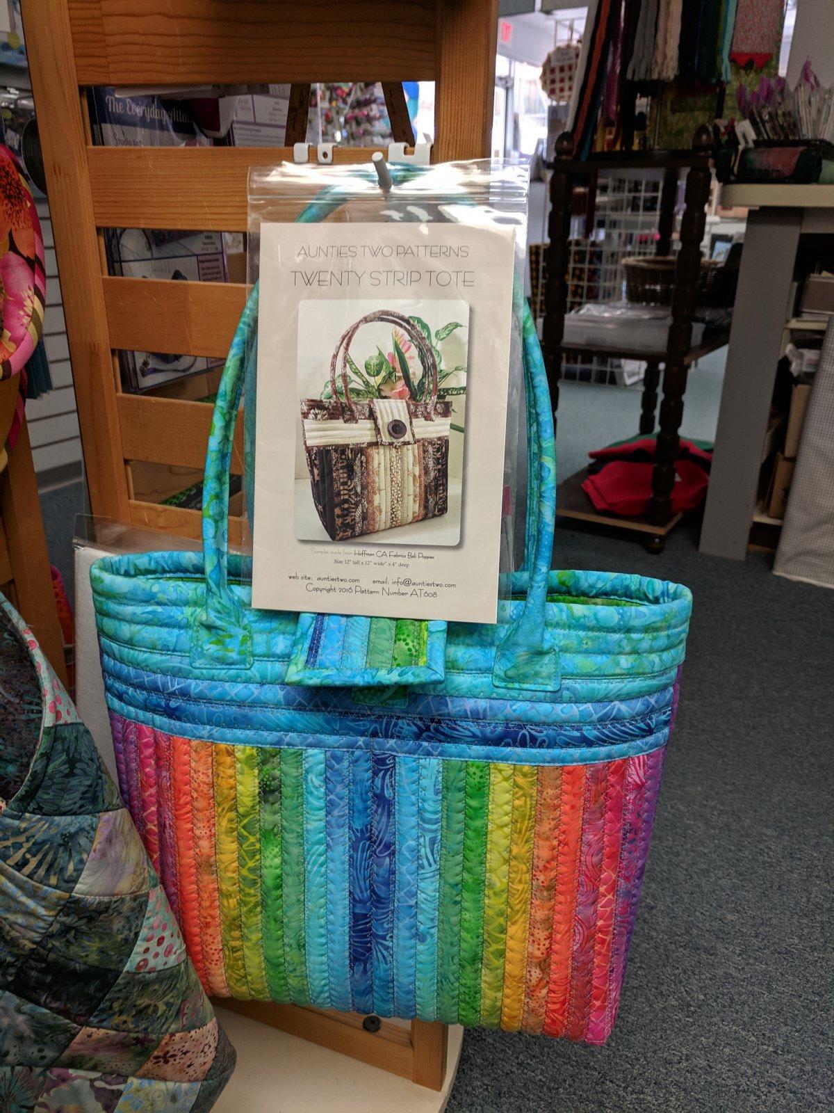 20 Strip Tote Bag