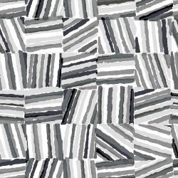 Safari Stacks Grey Cotton and Steel