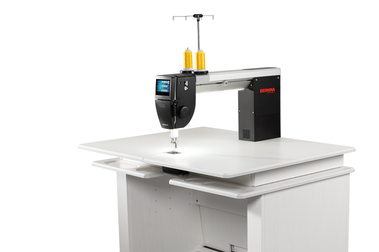 Q20 Sit-Down Longarm Machine with Table