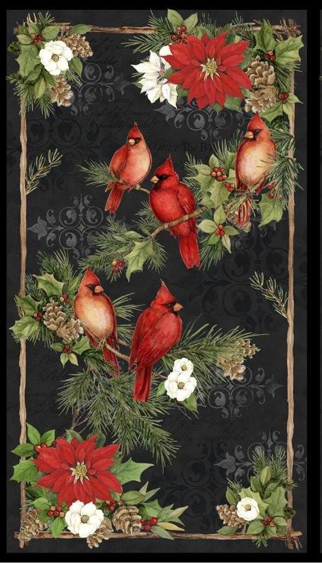 Cardinal Noel - 100% Cotton