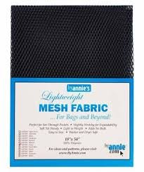 Mesh Lightweight Fabric - 18 x 54 - Pkg (variety of colours)