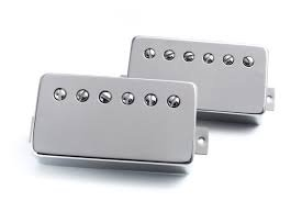 Bare Knuckle Pickups Stormy Monday Humbucker Set Nickel