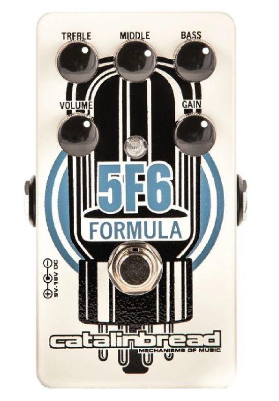 Catalinbread Formula 5F6 Tweed Bassman-style Overdrive Pedal