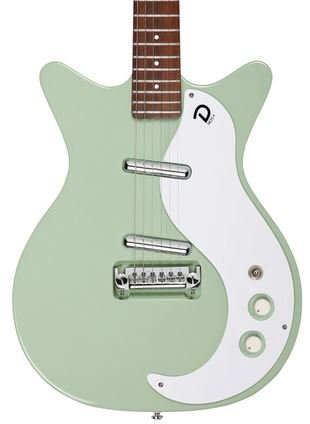 Danelectro '59M NOS+ Electric Guitar Keen Green