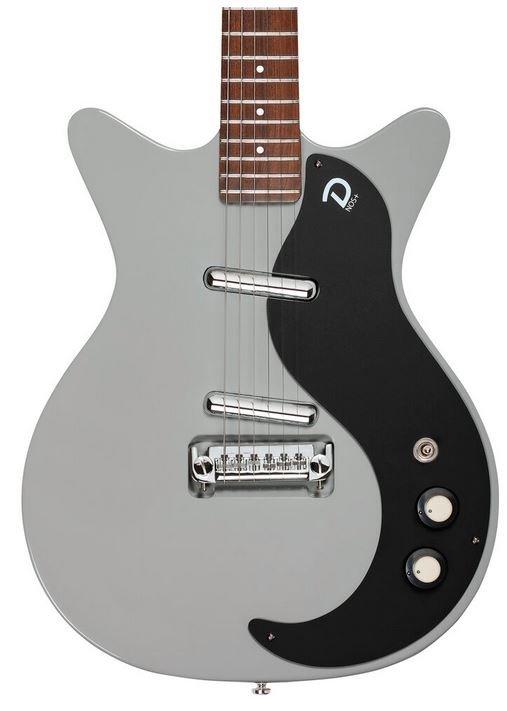 Danelectro '59M NOS+ Electric Guitar Ice Gray