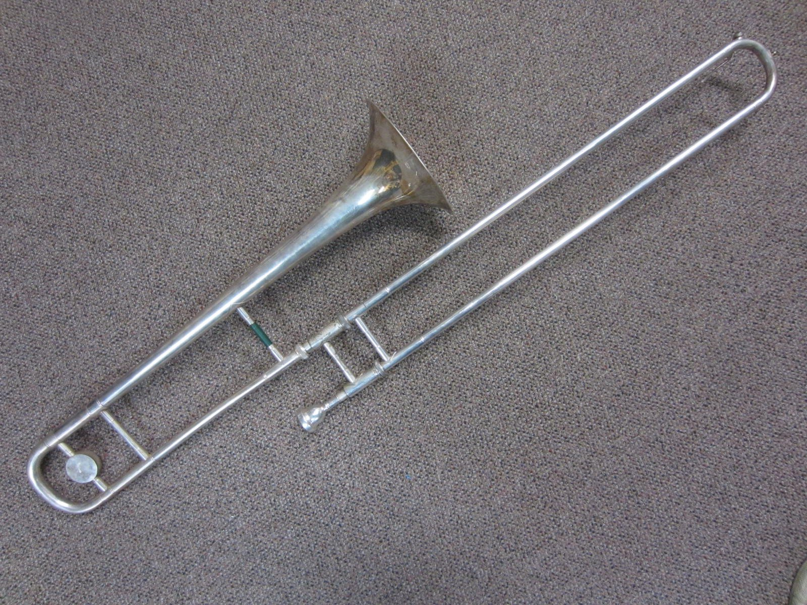 Besson 2-20 Trombone Silver with Case