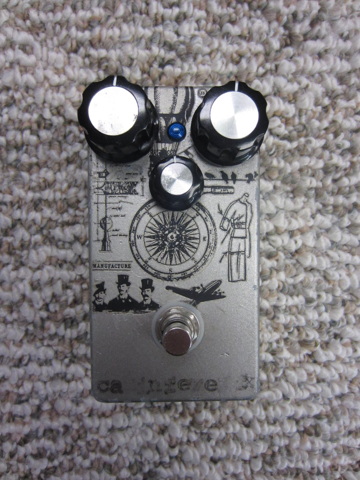 CabinFever Effects Overdrive of Antiquity