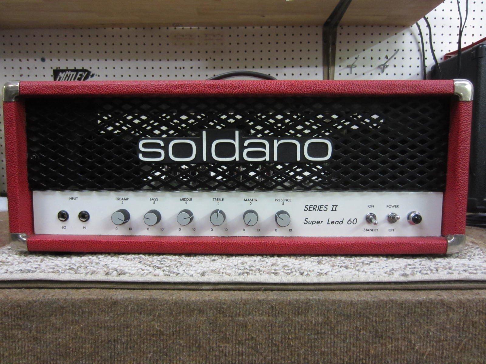 Soldano Series II Super Lead 60 Red Tolex