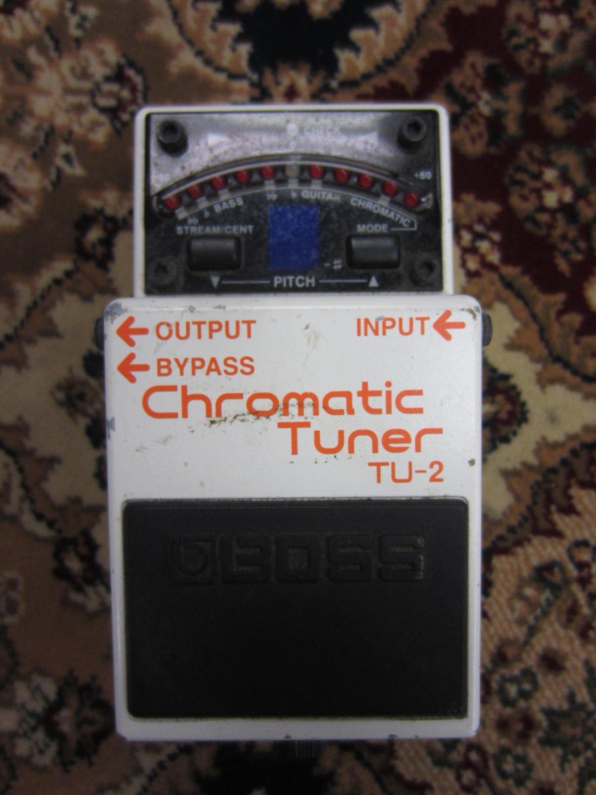 Boss TU2 Chromatic Pedal Tuner