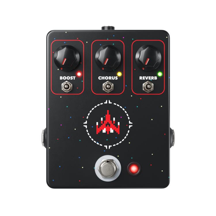 JHS Space Commander Boost/Chorus/Reverb Pedal