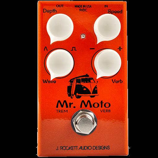 J.Rockett Audio Mr. Moto Tremolo/Reverb