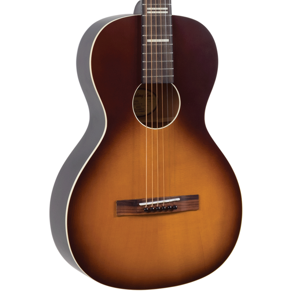 Recording King RPh-P2 Dirty 30s Series 9 Parlor Guitar Tobacco Sunburst