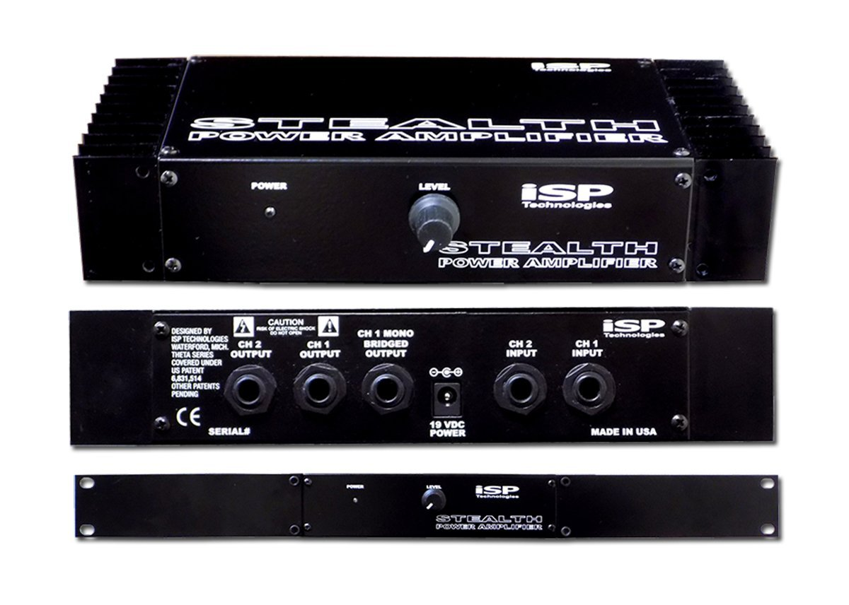 ISP Technologies Stealth 180 Watt Pro Power Amplifier