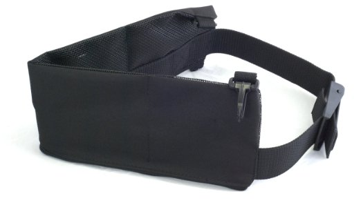 6 Pocket Cordura Weight Belt 54 Black