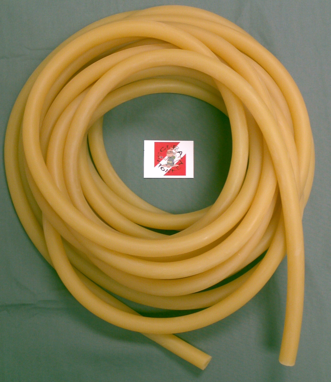 Amber Per ft Tubing 1/2 Yellow