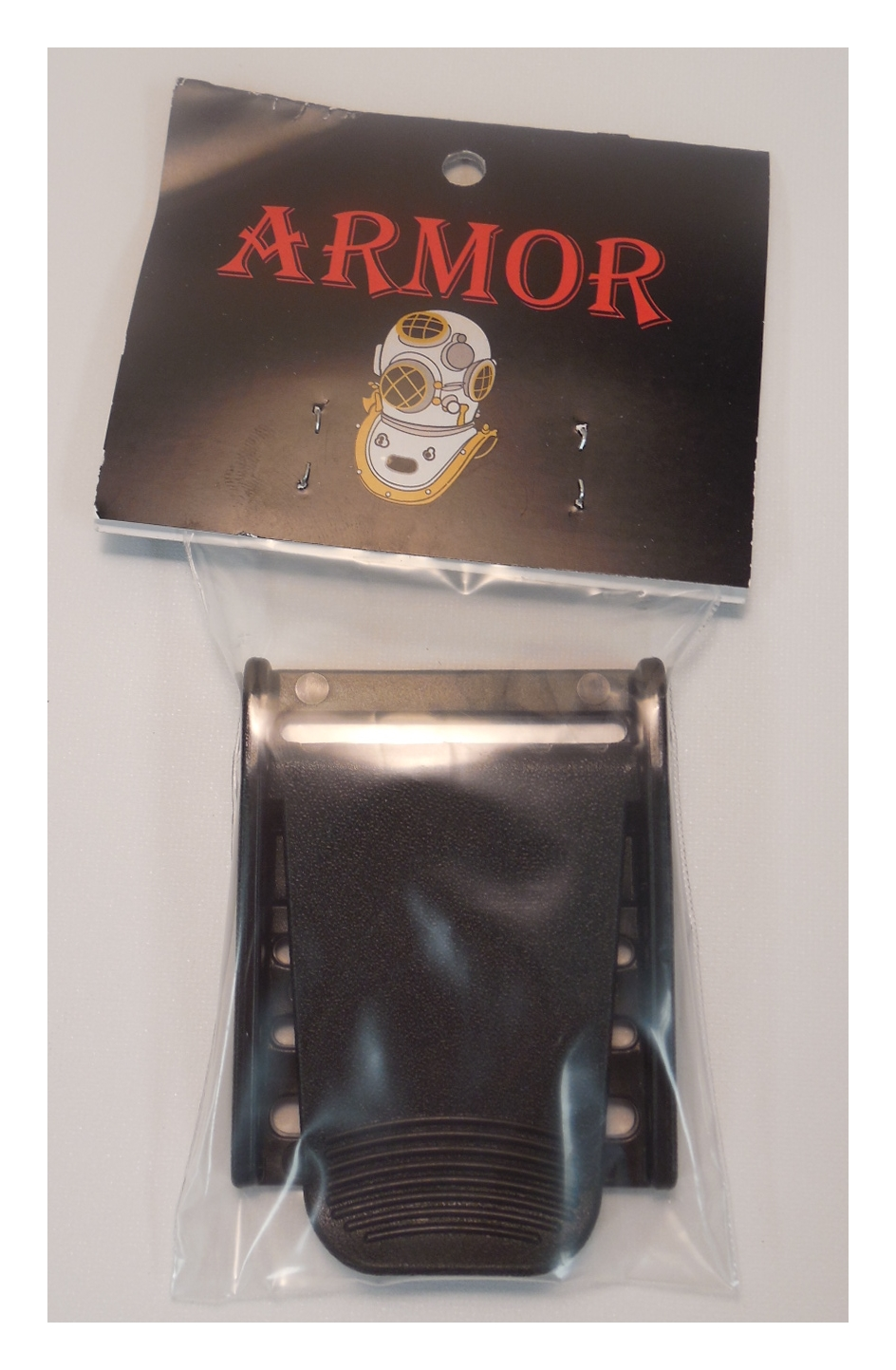 Armor Bags Weight Buckle Black