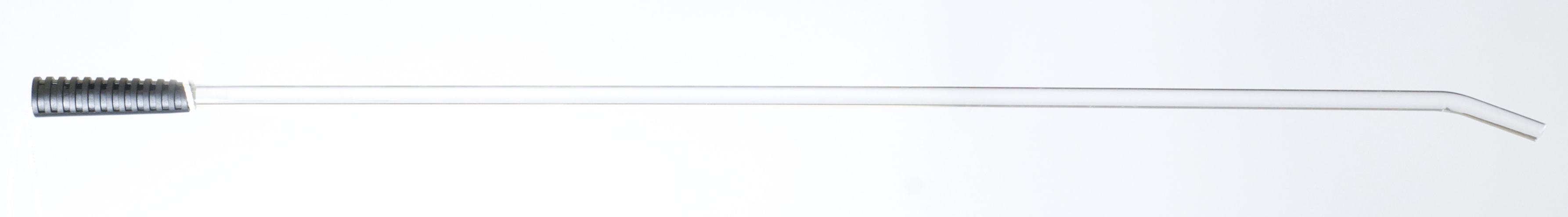 Clear Acrylic Tickle Stick Black