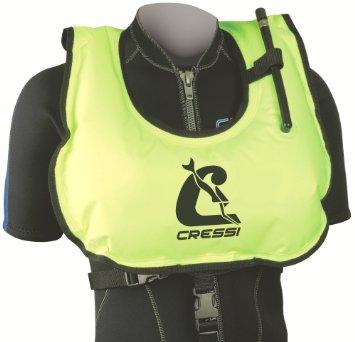 Cressi  Snorkel Snorkel Vest Yellow