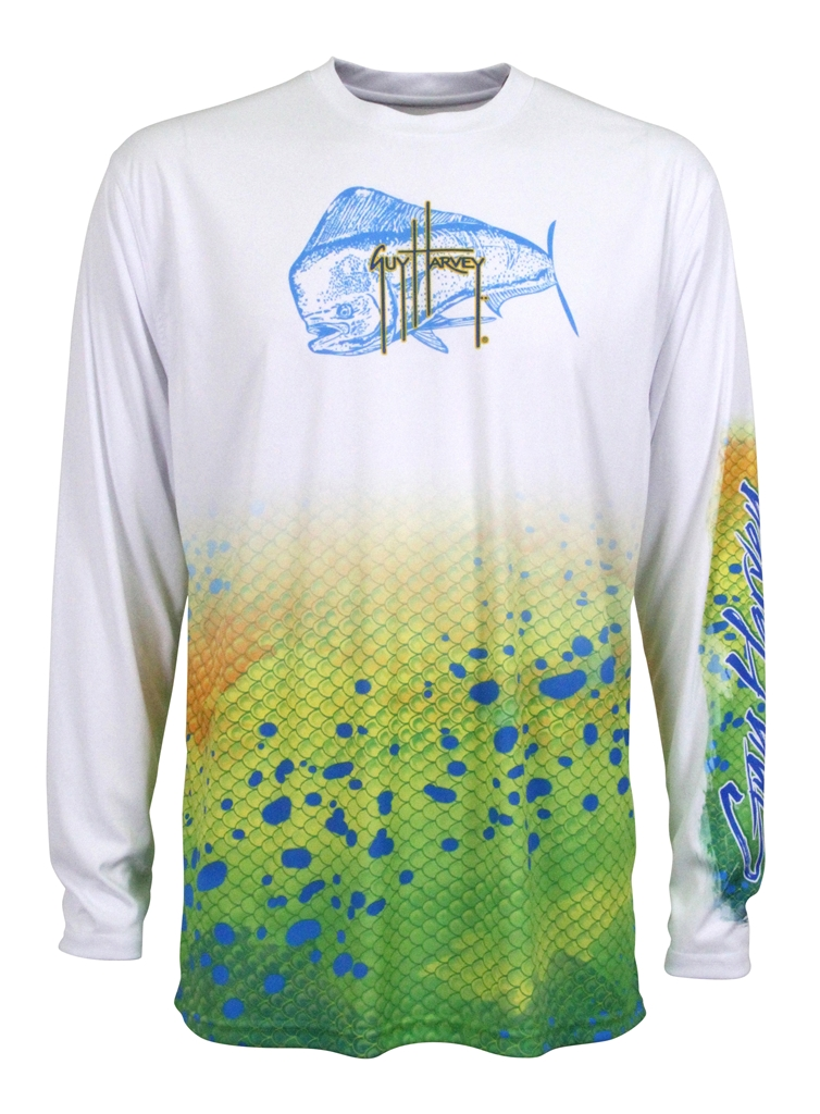 Guy Harvey  Dorado Long Sleeve Performance Shirt