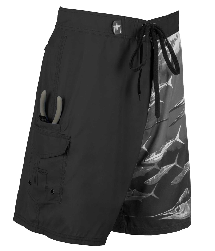 Guy Harvey  Twist of fate Boardshorts Black