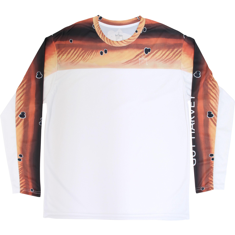 Guy Harvey Twistered Long Sleeve Performance Shirt