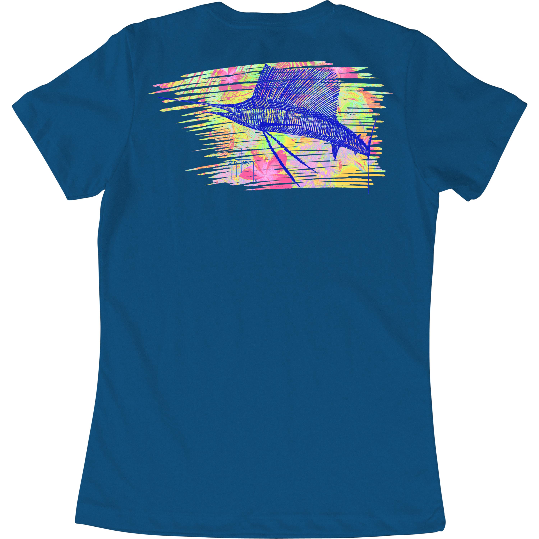 Guy Harvey Sailfish Dream Short Sleeve Shirt