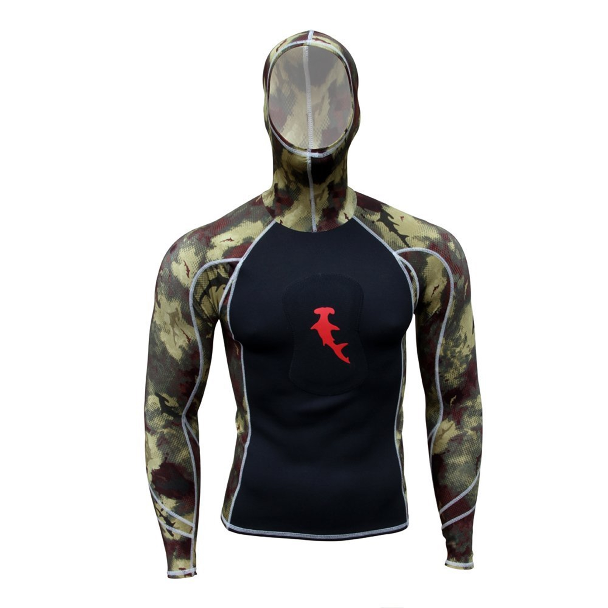 Hammerhead  Ambush Hammerhead Hooded Performance Shirt 2X-Large Green