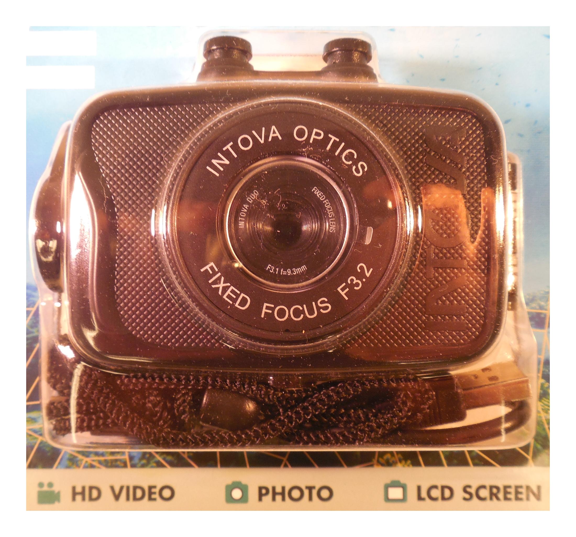Innovative Scuba Duo Sport Action Camera