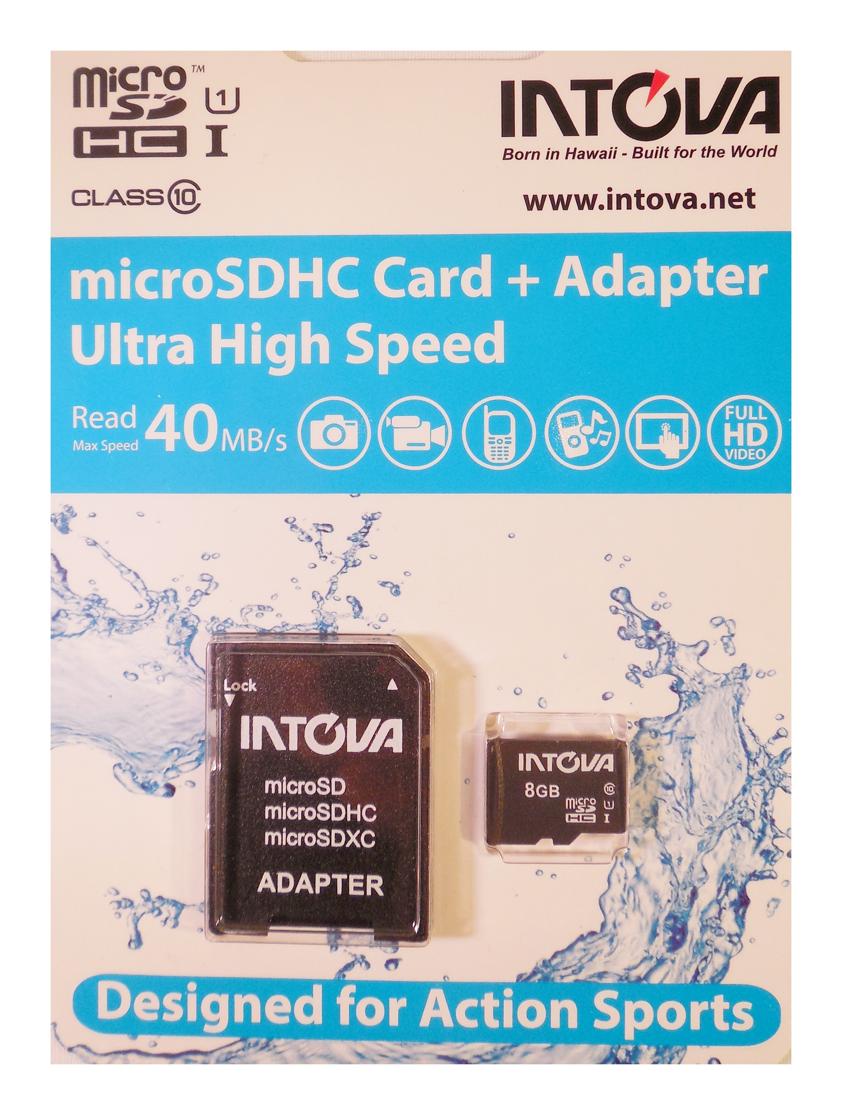 Innovative Scuba Micro SD Card Memory 8GB