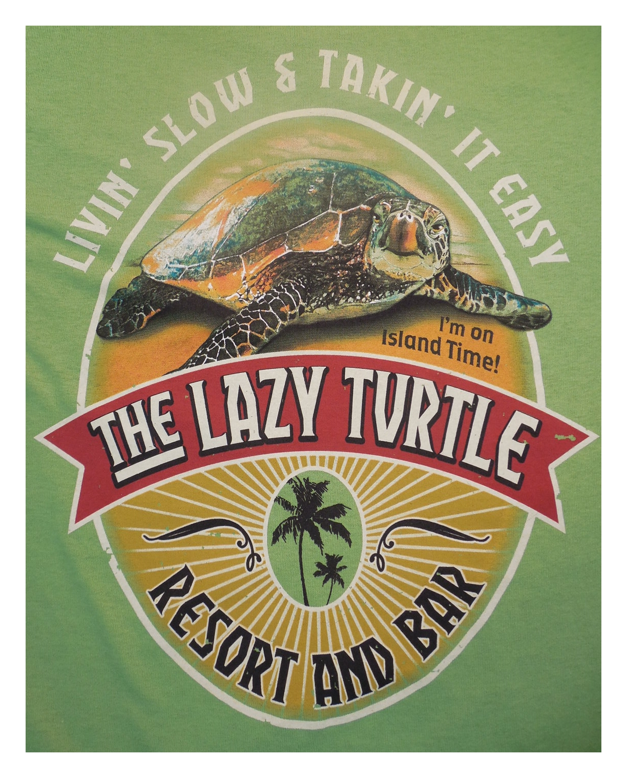 Outhouse Designs  Lazy Turtle Shirt