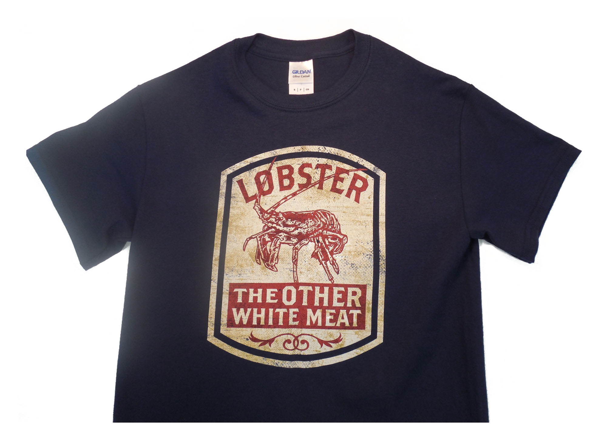 Outhouse Designs  Spiney Lobster White Meat Shirt