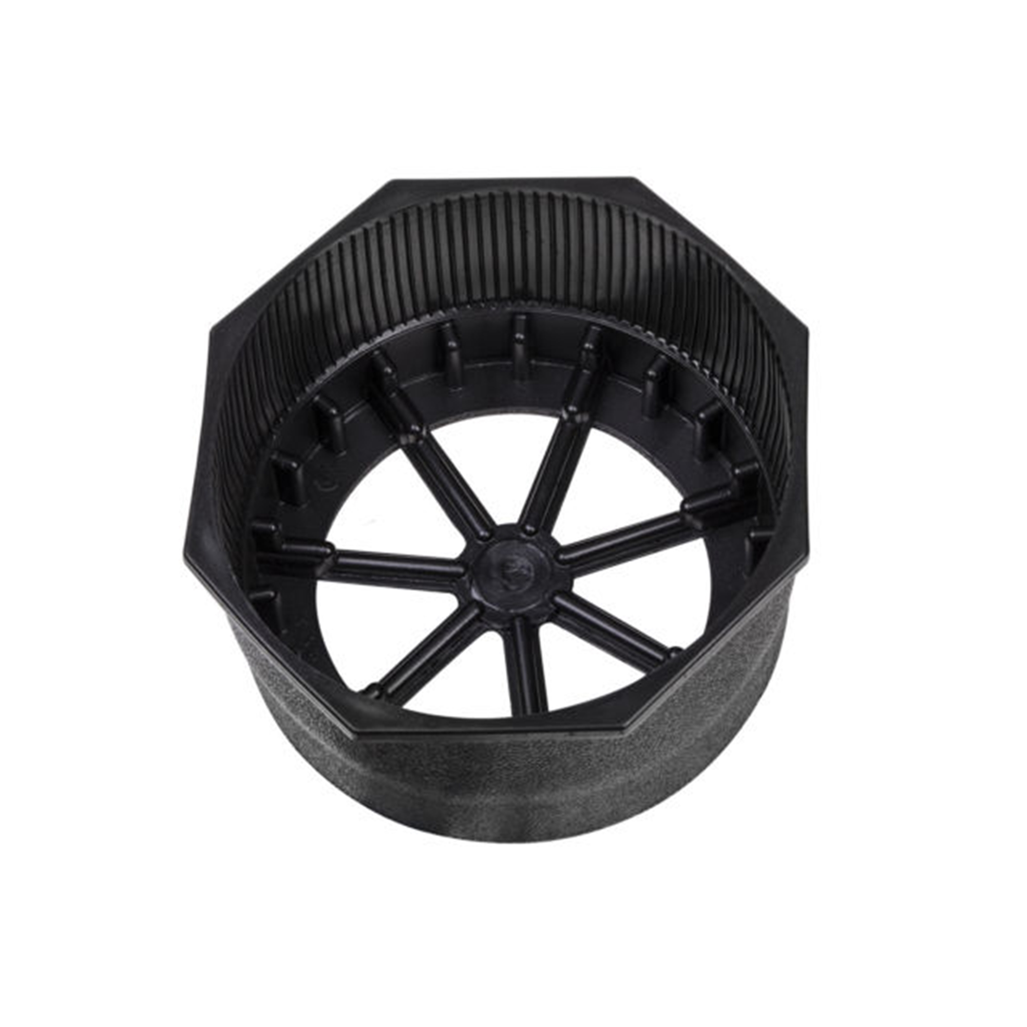 XS Scuba Hex for Steel Tank Boot 8 Black