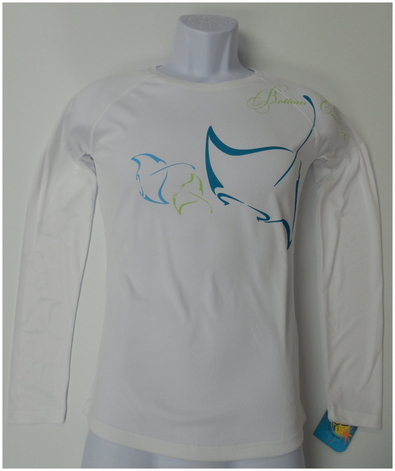 Bottom Crawlers TEC Manta's Performance Shirt Large White FBA