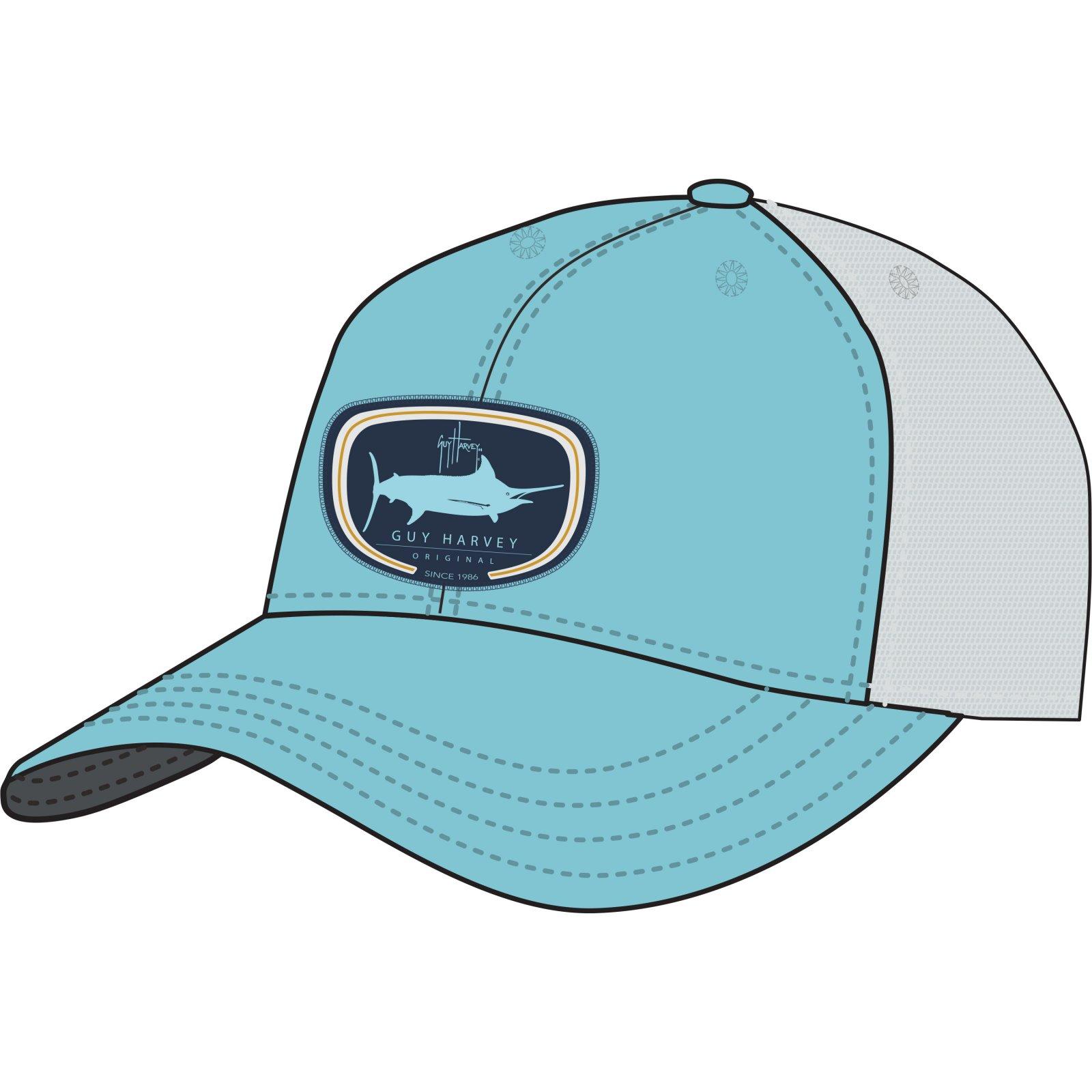 5d9c11d9be669 Guy Harvey Impi Trucker Hat Topaz
