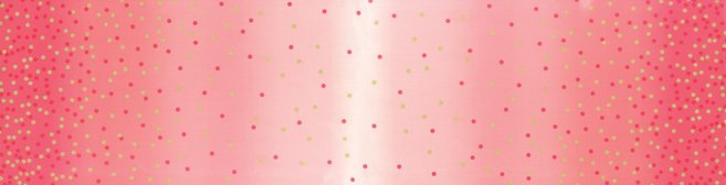 Ombre Confetti  Popsicle Pink