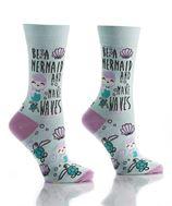 Womens Crew Sock - Mermaid