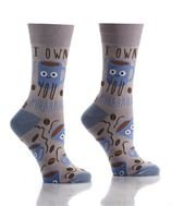 Womens Crew Sock - Know Your Coffees