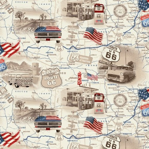 All-American Road Trip  - Map