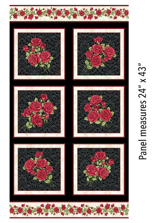 Festival of Roses FQ Bundle Black
