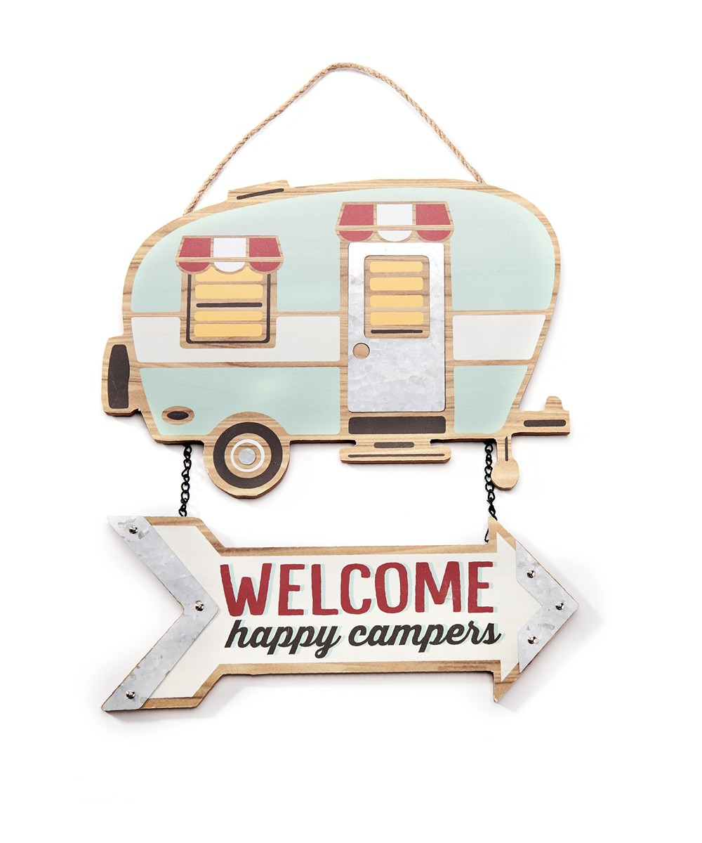 Welcome Happy Campers